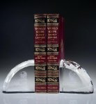 Faceted Bookends Achievement Awards