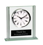 Square Glass Desk Clock Sales Awards